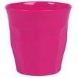 Rice Solid Colored Medium Melamine Cup in Fuchsia
