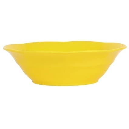 Rice Melamine Soup Bowl in Yellow