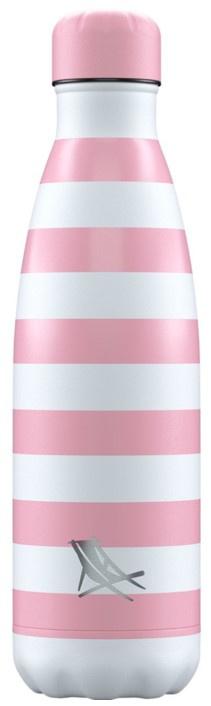 Chilly's Drink Bottle 500 ml Dock & Bay Malibu Pink -mat-
