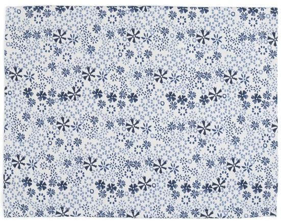 Bunzlau Placemat Indigo Lace -set of 2-