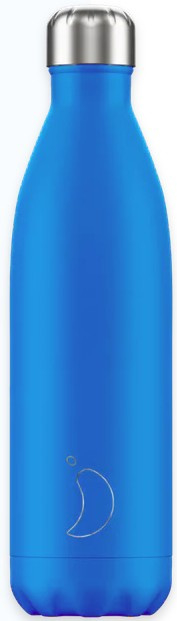 Chilly's Drink Bottle 750 ml Neon Blue