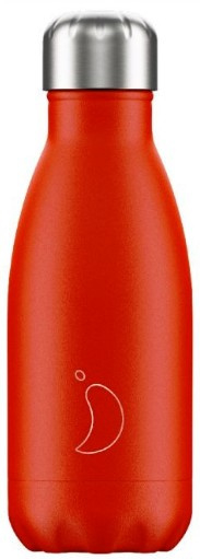 Chilly's Drink Bottle 260 ml Neon Red