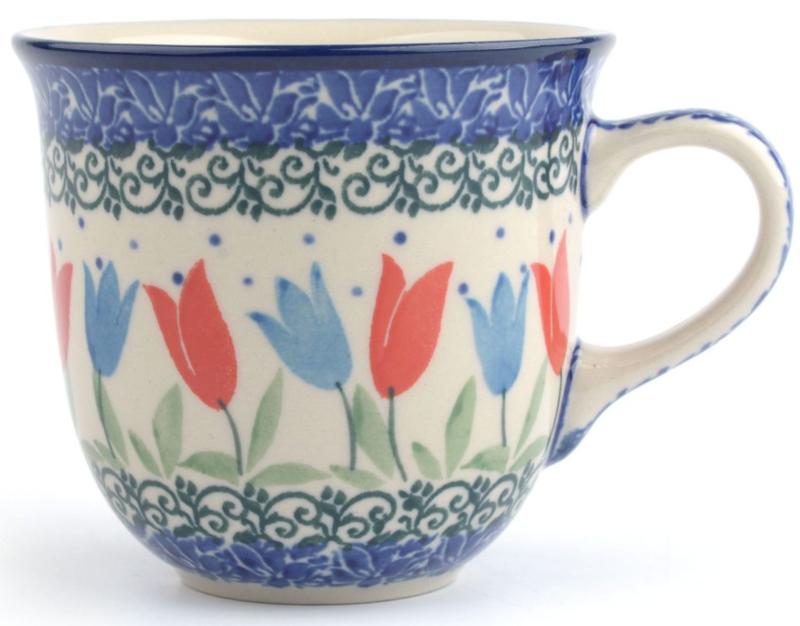 Bunzlau Tulip Mug 200 ml Tulip Royal -Limited Edition-