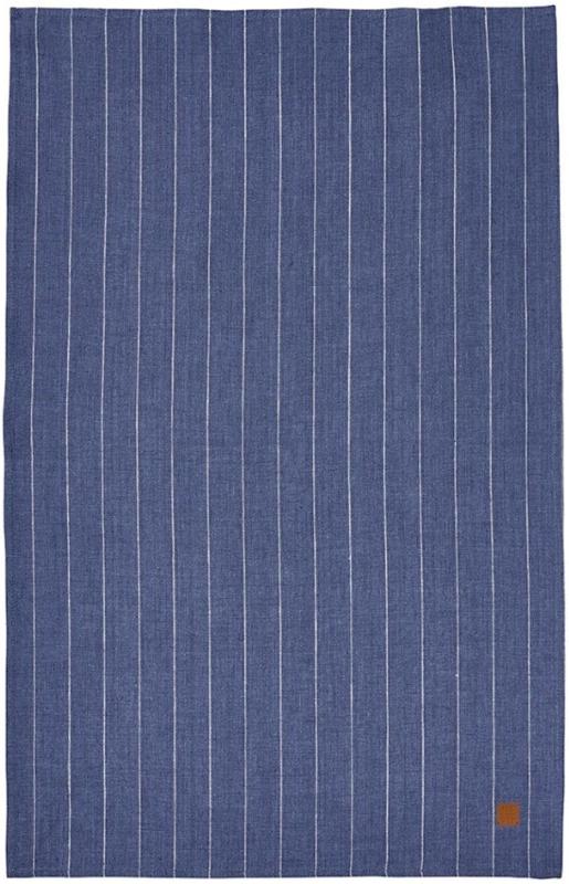 Ulster Weavers Tea Towel Linen 1880 Indigo