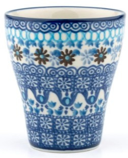 Bunzlau Mug for Carafe 200 ml Blue Coral