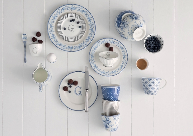 GreenGate 6 Plates (choose your own)