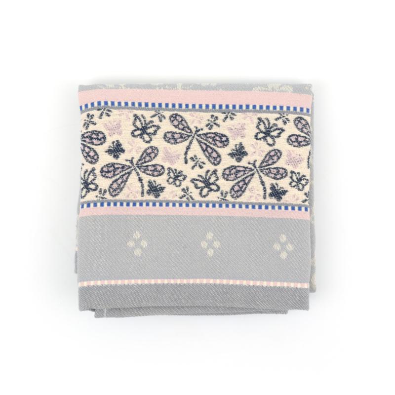Bunzlau Tea Towel Dragonfly Grey