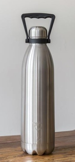 Chilly's Drink Bottle / Thermos Jug 1,8 l RVS Silver