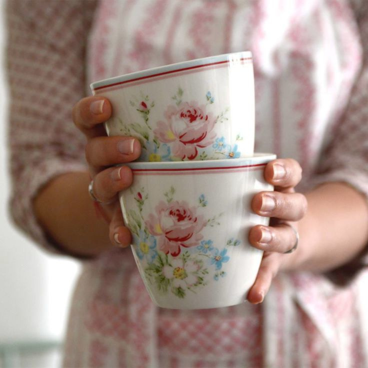 GreenGate 6 Latte Cups (choose your own)