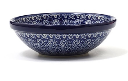 Bunzlau Yogurt / Cereal Bowl 14 cm Lace