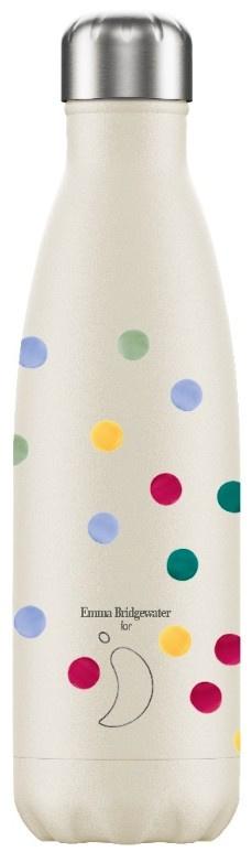 Chilly's Drink Bottle 500 ml Emma Bridgewater Polka Dot -mat met reliëf-