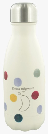 Chilly's Drink Bottle 260 ml Emma Bridgewater Polka Dot -mat met reliëf-