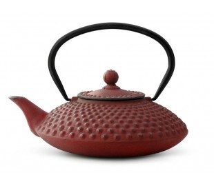 Bredemeijer Cast Iron Teapot Xilin 1,25 liter Red