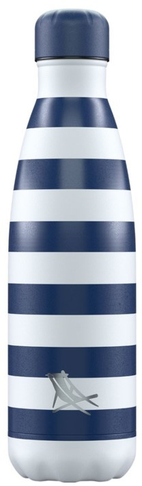 Chilly's Drink Bottle 500 ml Dock & Bay Whitsunday Navy -mat-