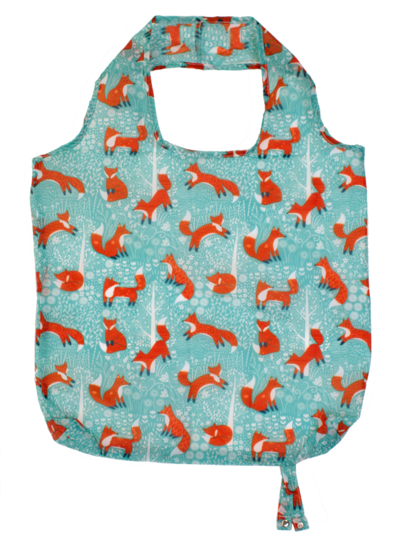 Ulster Weavers Roll-Up  Bag Foraging Fox