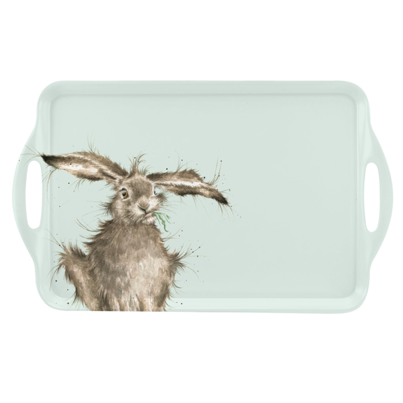 Wrendale Designs Hare Large Melamine Tray