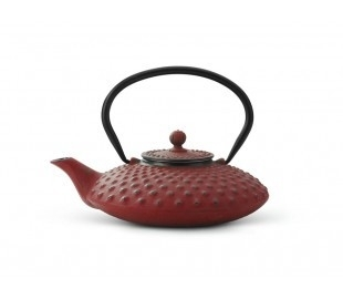 Bredemeijer Cast Iron Teapot Xilin 0,8 liter Red