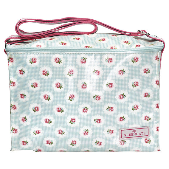 GreenGate Cooler Bag Tammie Pale Blue One Handle