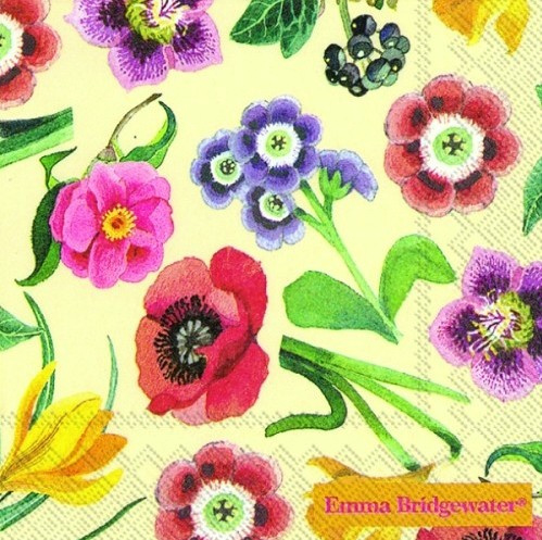 Emma Bridgewater Flowers Cocktail Napkins