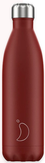 Chilly's Drink Bottle 750 ml Matte Red