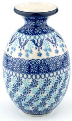 Bunzlau Vase 15 cm Nautique
