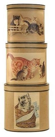 Meander Doos Kittens * let op afbeelding