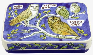 Emma Bridgewater Owls Pocket Tin