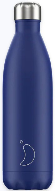 Chilly's Drink Bottle 750 ml Matte Blue