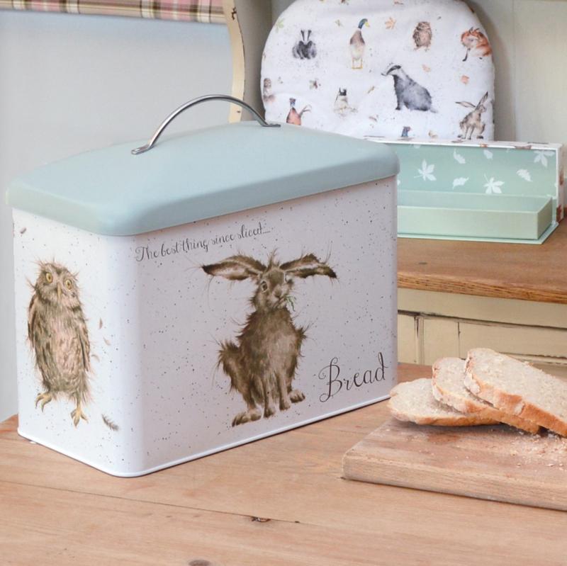 Wrendale Designs Bread Bin -green-