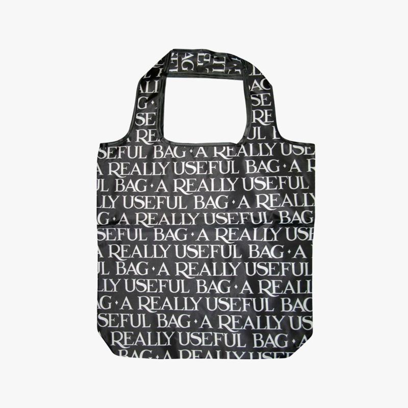 Emma Bridgewater Toast & Marmalade Black Foldaway Bag
