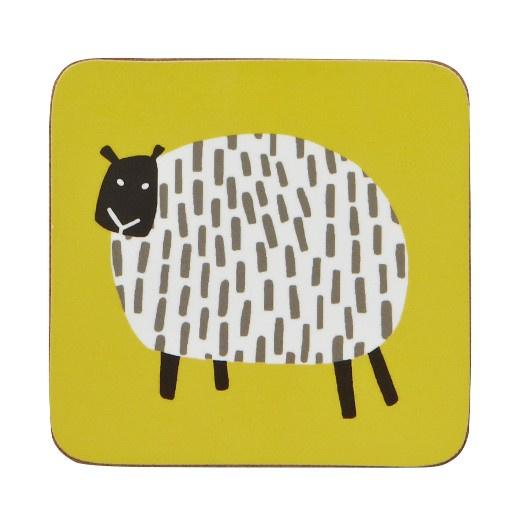 Ulster Weavers Coasters Dotty Sheep - set of 4-