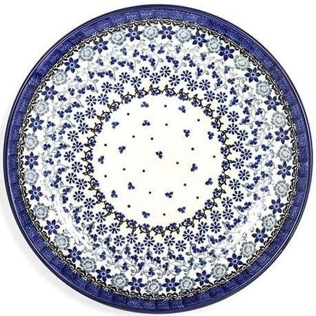 Bunzlau Plate 25,5 cm Belle Fleur