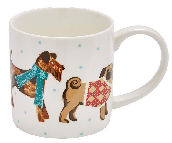 Ulster Weavers Straight Sided Mug Hound Dog  -Model A-