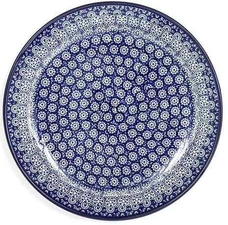 Bunzlau Plate 23,5 cm Lace