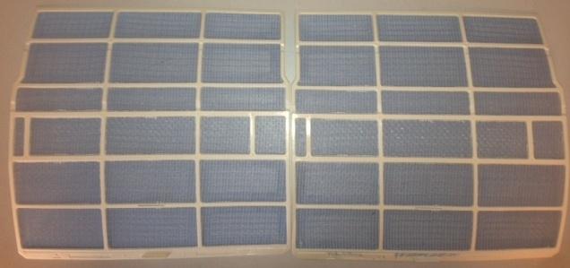 Filter set voor de Tristar AC-5412 en AC-5413