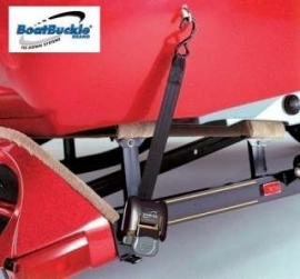 Boatbuckle tie-down systeem standaard.
