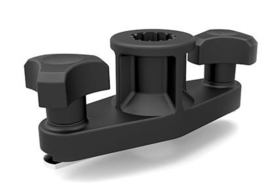 Kayak rail mount