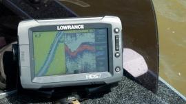Johnny Ray JR 500 Dieptemeter/GPS steun