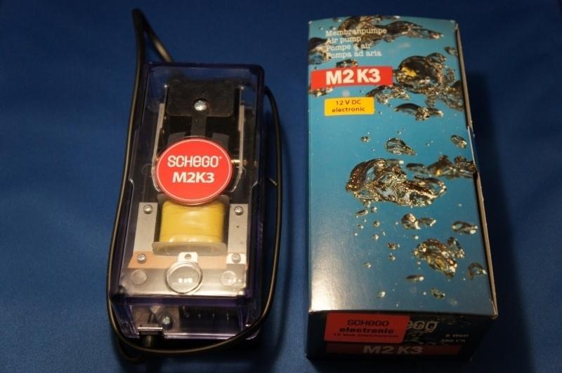 Schego M2K3 zuurstofpomp 12volt