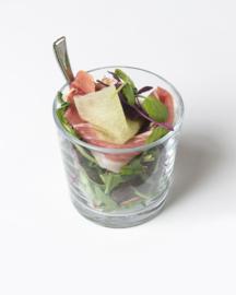 15 luxe plus borrelhapjes/ meloen met rauwe ham