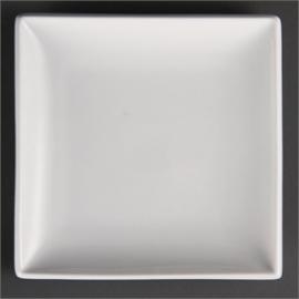 gebaksbordje 18 cm vierkant