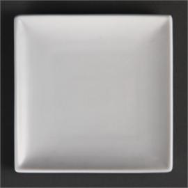 gebaksbordje 14 cm vierkant