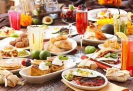 Luxe lunch buffet