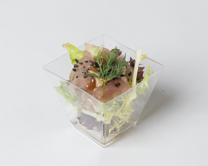 28 Luxe borrelhapjes / Rauwe tonijn