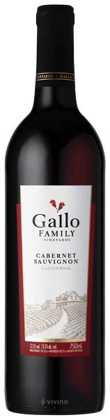 Gallo rode wijn 18,7 cl