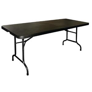 Inklapbare buffettafel zwart