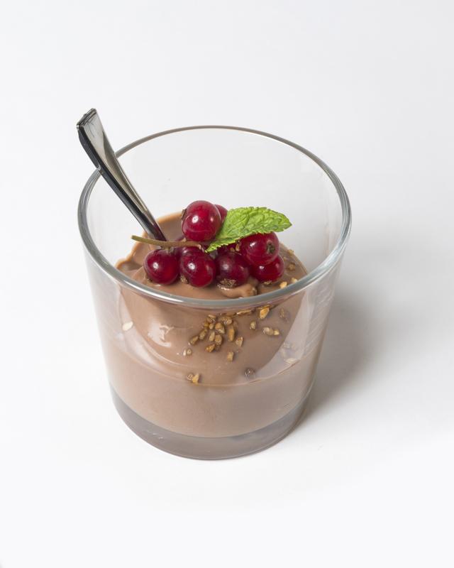 15 luxe plus borrelhapjes/ chocolademousse