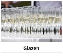 catering verhuur_glazen huren