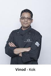 hip catering_Vinod