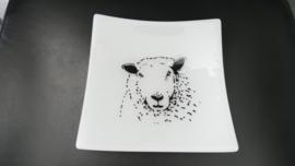 Glas Schafschüsseln